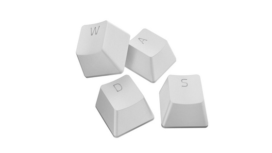 Komplet tipk PBT Keycap Upgrade Set - Razer Mercury White