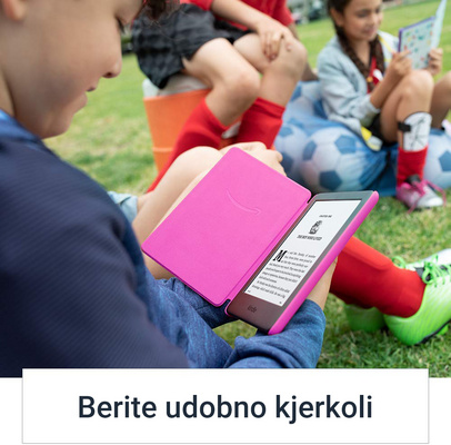 "E-bralnik Kindle Kids Edition, 6"" 8GB WiFi, 167dpi, roza ovitek"