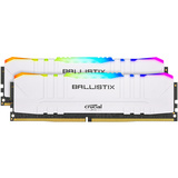 RAM DDR4 16GB Kit (2x8) PC4-28800 3600MT/s CL16 1.35V Crucial BX White RGB
