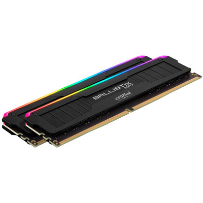 RAM DDR4 32GB Kit (2x16) PC4-32000 4000MT/s CL18 1.35V Crucial Ballistix MAX RGB