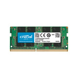RAM SODIMM DDR4 8GB PC4-25600 3200MT/s CL22 SR x8 1.2V Crucial