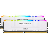 RAM DDR4 16GB Kit (2x8) PC4-25600 3200MT/s CL16 1.35V Crucial BX White RGB