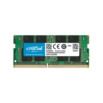 RAM SODIMM DDR4 16GB PC4-21300 2666MT/s CL19 DR x8 1.2V Crucial