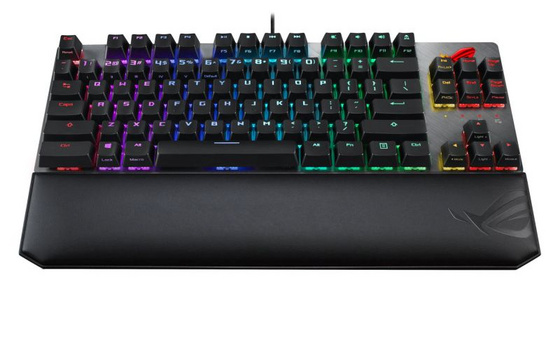 Tipkovnica ASUS ROG Strix Scope TKL Deluxe, MX-Red, RGB, USB, UK SLO g.