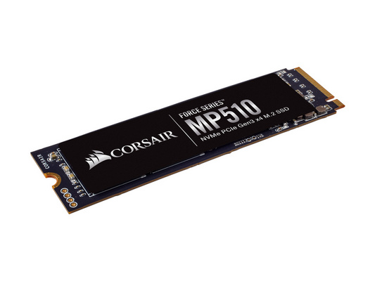 SSD 1.92TB M.2 80mm PCI-e 3.0 x4 NVMe, 3D TLC, Corsair MP510