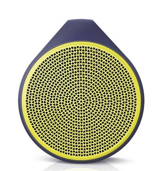 Speaker Logitech X100, bluetooth, yellow :: Eventus Sistemi