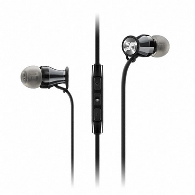 Slušalke Sennheiser MOMENTUM In-ear i, za iPhone, črne